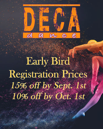 Early bird registration prices